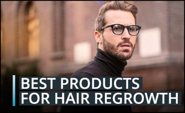 What are the best hair regrowth products for women and men?
