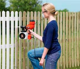 Black and Decker Fence Sprayer